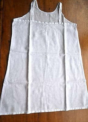 ANTIQUE VINTAGE FRENCH LINEN TOP 1930's xxSmall ideal for doll collectors