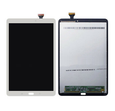For Samsung Galaxy Tab E Wi-Fi 9.6 SM-T560 LCD Screen Digitizer White Replace @D