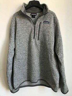 Patagonia Mens Better Sweater 14 Zip Fleece Size Small