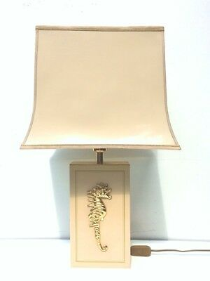 LAMPE style MAHEY  *Vintage* '70s/80s *Hollywood Regency* LAMP