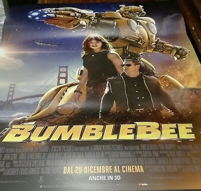 Bumblebee Poster Ufficiale Nuovo Film