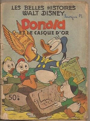 Donald et le casque d'or