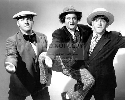The Three Stooges Larry Fine, Moe & Curly Howard - 8X10 Publicity Photo (Ep-199)