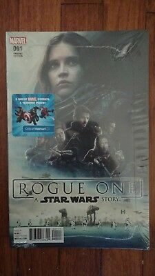 Marvel Wal-Mart Exclusive 3pack comics,   Rogue one Variant +2 Sealed/Unopened!!