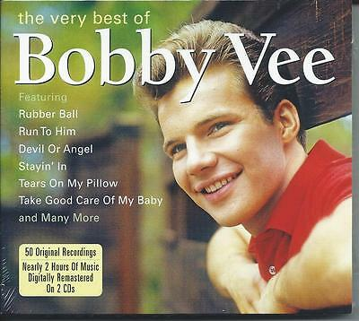 Bobby Vee - The Very Best Of - Greatest Hits 2CD NEW/SEALED