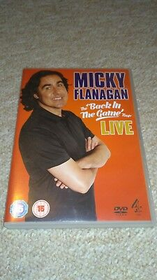 "Micky Flanagan The ""Back in the game"" tour DVD"