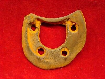 Dug Soldier's Heel Plate From Confederate Camp Near Griswoldville Ga.