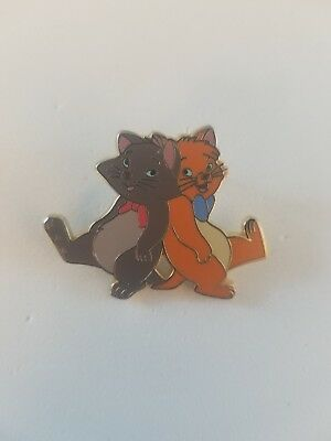 Disney Pin Aristocats Booster Berlioz and Toulouse HTF RARE