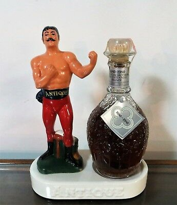 Antique Prize Fighter Whiskey Bar Statue John Sullivan Frankfort Distillers(Nos)