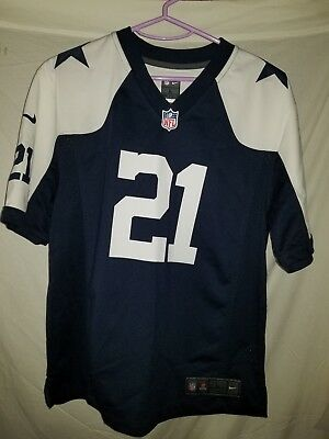 new york 88720 24705 EZEKIEL ELLIOTT #21 Dallas Cowboys Nike Youth Throwback Game ...