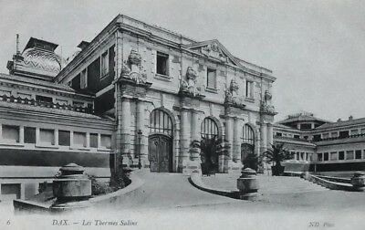 Carte postale ancienne cp786 Dax Thermes salins