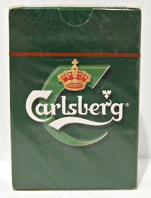 Carlsberg Playing Cards - Dark Green - Us Seller