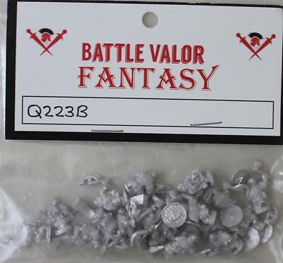Battle Val Dwarians 15m Dwarian Shame Bearers w/Axes and Shields (Hal Pack MINT