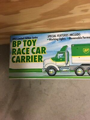 BP Toy Race Car Carrier  1993 Limited Edition Series