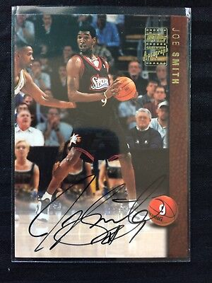 1997-98 Topps Certified Autograph Issue Auto On Card Joe Smith