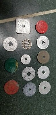 Tax token lot several different ones.