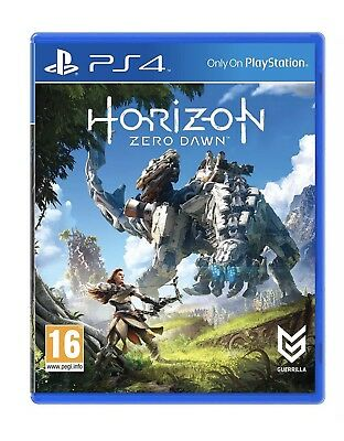 Horizon: Zero Dawn Standard Edition Sony Playstation PS4 *NEW AND SEALED*