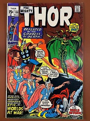 The Mighty Thor #186 Marvel Comics Hela appearance Bronze Age NO RESERVE