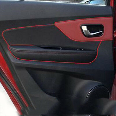 Car Styling Strips Trim Decals Interior Door Sticker Moulding Line 4 Colours SA