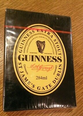 GUINNESS EXTRA STOUT Playing Cards New Sealed Deck