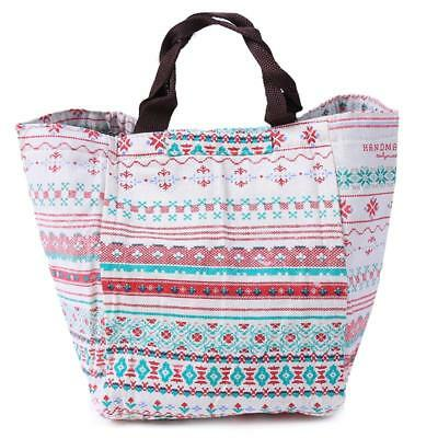 Portable Insulated Thermal Cooler Lunch Box Tote Picnic Storage Bag Pouch Shan