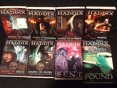 Lot of 8 Margaret Peterson Haddix's The Shadow Children, Excellent condition