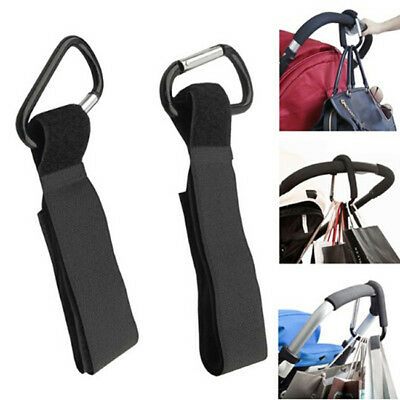 Baby Stroller Hooks Shopping Bag Clip Carrier Pushchair Hanger Hook SA
