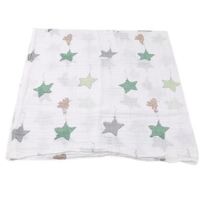 Baby Muslin Blanket Swaddle Bedding Cotton Soft Blankets for Newborn shan