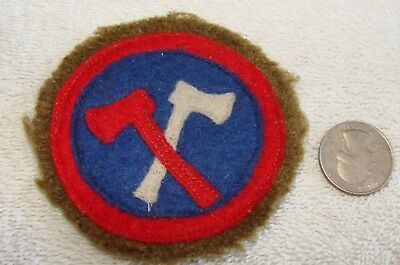 WWI Era US 84th Division Patch - Wool