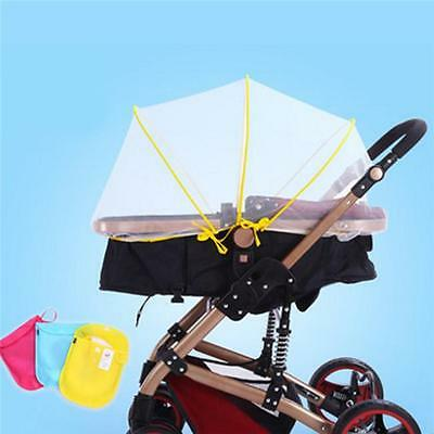 Baby Buggy Pram Mosquito Cover Net Pushchair Stroller Fly Insect Protector shan