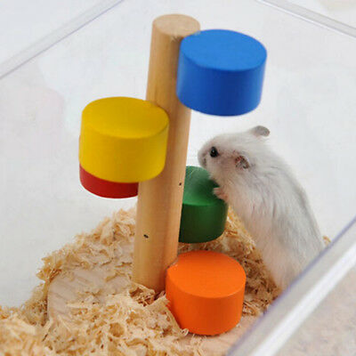 Jumping Stair Ladder For Small Animal Pet Hamster Hedgehog Guinea Pig Shan