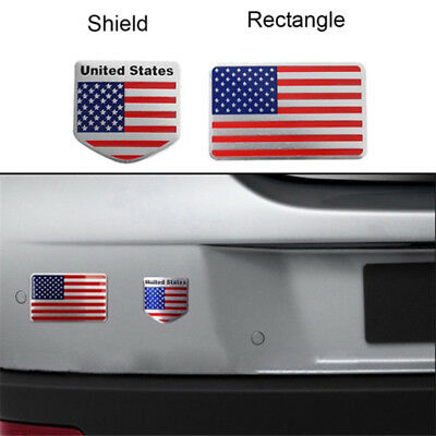 Wall Quote Wall Auto Bumper Alloy Sticker American Flag Decal Decor Art Shan