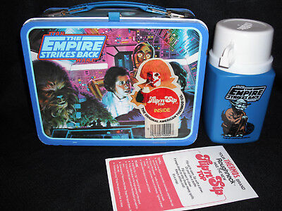1980 Star Wars ESB Lunch Box & Thermos * Vintage Unused Excellent Tags * Empire