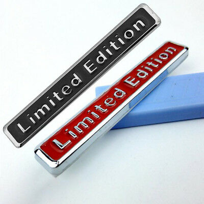 3D Metal Limited Edition Sticker Auto Car Badge Decal New Motorcycle Decoration