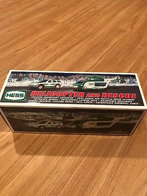 2012 Hess Toy Truck and Rescue Car New In Box