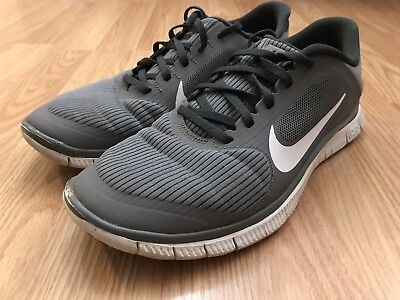 382bb40a3a98 NIKE FREE 4.0 V3 Men s Shoes Size 9.5 Gray Running Athletic 579958 ...