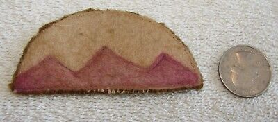 WWI Era US Mountain (unknown Division) Wool Patch - Wool
