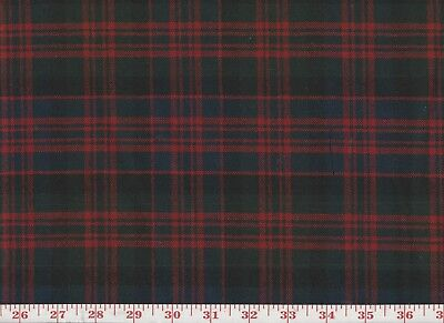 100 Wool Plaid Overstock Upholstery Fabric By Roth Tompkins