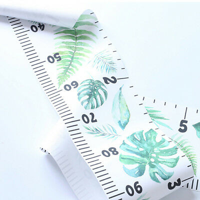 Kid Growth Chart Children Room Decor Wall Hanging Height Measure Ruler SA