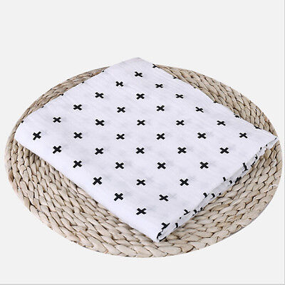 Newborn Baby Blanket Cot Blanket Comforter Wrap Swaddle Bedding Supplies Shan