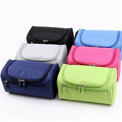 Travel Cosmetic Makeup Toiletry Case Wash Storage Pouch Hanging Bag Shan