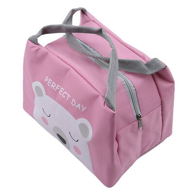 Portable Insulated Thermal Cooler Lunch Box Tote Bag Storage Picnic Container Sh