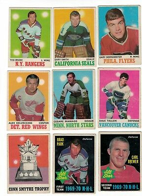 1970-71 OPC NHL Hockey Lot - Pick only cards that you need - $1.50 each VG-/VG