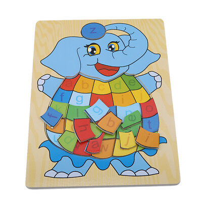Wooden Cartoon Animal Puzzle Jigsaw Children Puzzle Montessori Toys Shan
