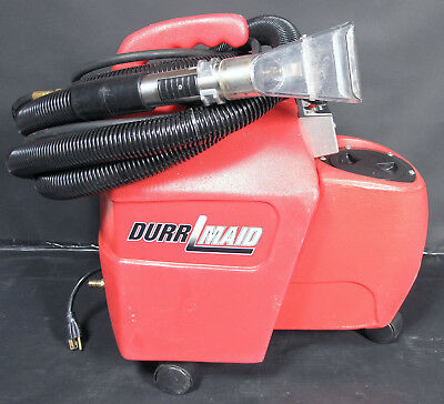 Durrmaid 1500 2.4gal 60psi HEATED 2 Stage Vac Spot Extractor Hoses Wand S2H-1500