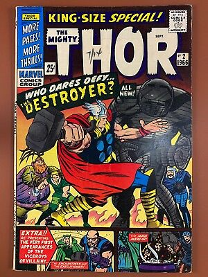 The Mighty Thor Annual #2 (1971 Marvel Comics) The Destroyer appearance