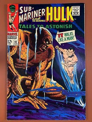Tales to Astonish #92 (1967 Marvel) Hulk and Sub-Mariner appearance NO RESERVE