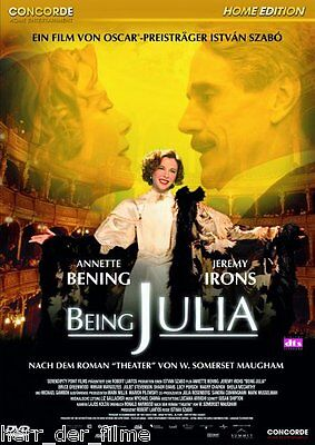 BEING JULIA (Annette Bening, Jeremy Irons) NEU+OVP