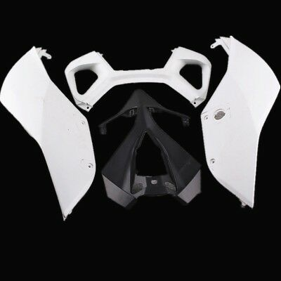For Ducati 1199 Panigale 2012 Unpainted Rear Tail Fairing Cowl ABS Plastic