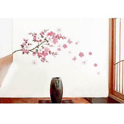 Large Plum Blossom Flower Tree Wall Stickers, Wall Art, Wall Decals Shan